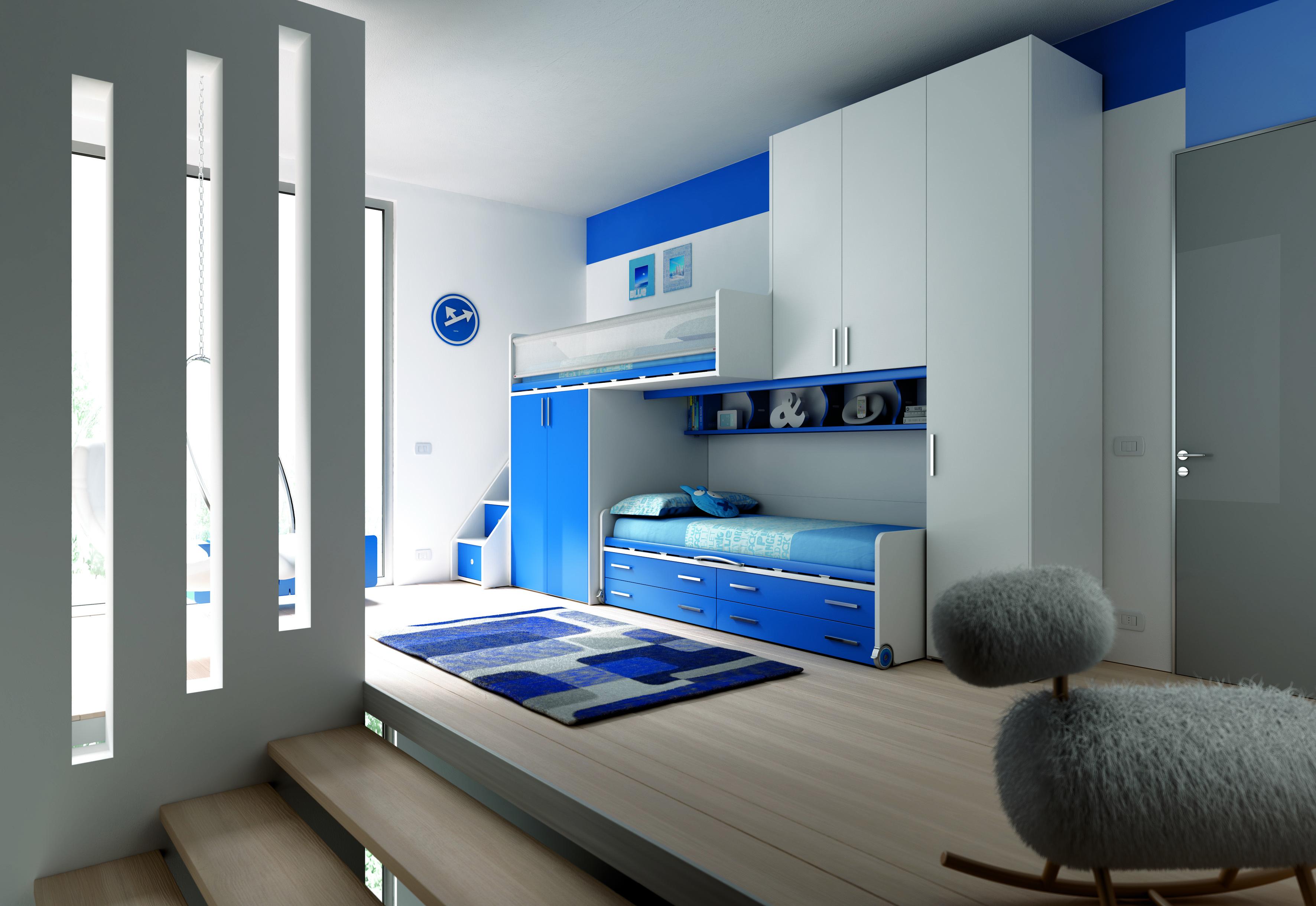 Детская и студенческая мебель moretti compact - decoland.